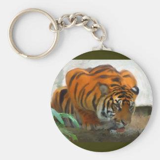 Crouching Tiger Keychain