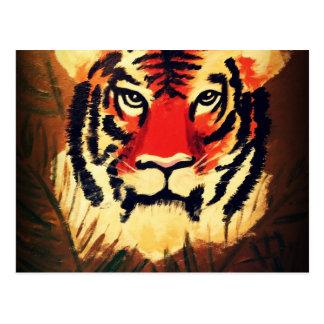 Crouching Tiger Postcard