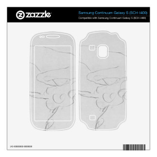 Crouching to right by Gustav Klimt Samsung Continuum Decal