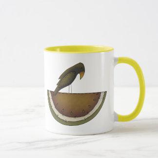 Crow And Melon Mug