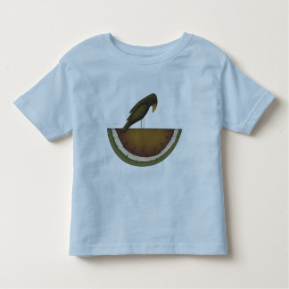Crow And Melon Toddler T-shirt