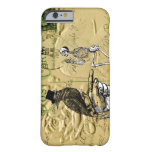 Crow and skeleton iPhone 6 case