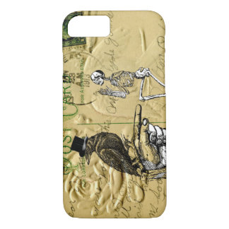 Crow and skeleton iPhone 8/7 case
