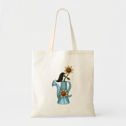 Crow and Water Pitcher Tote Bag