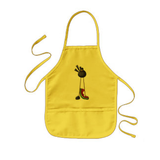 Crow and Watermelon Apron