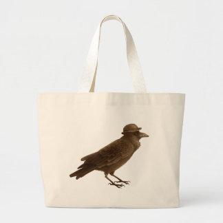 Crow Art Tote Canvas Bag