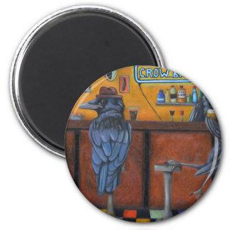 Crow Bar 2 Inch Round Magnet