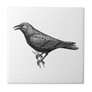 Crow Bird Art Tiles