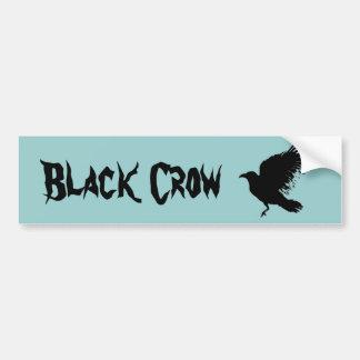 Crow - black bumper sticker