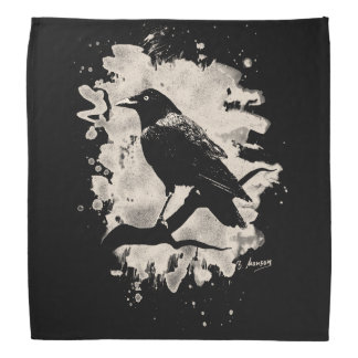 Crow bleached look bandana