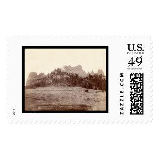 Crow Butte near Fort Robinson NE 1891 Postage Stamp