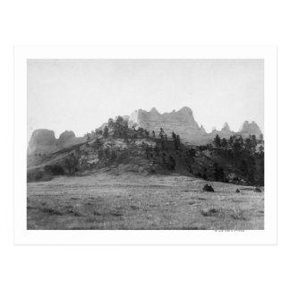 Crow Butte near Ft. Robinson Photograph Postcard