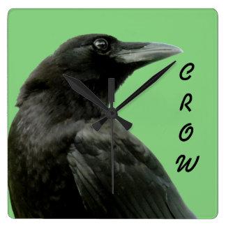 Crow Clock