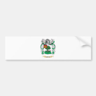 Crow Coat of Arms Bumper Sticker