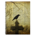 Crow Collage Note Books