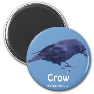 CROW Collection 2 Inch Round Magnet
