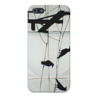 Crow Composition Case For iPhone 5