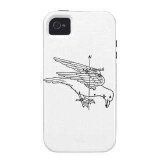 Crow Constellation iPhone 4 Case