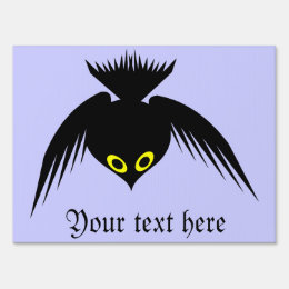 Crow Custom Sign