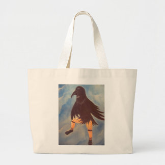 Crow Dancer Tote Bags