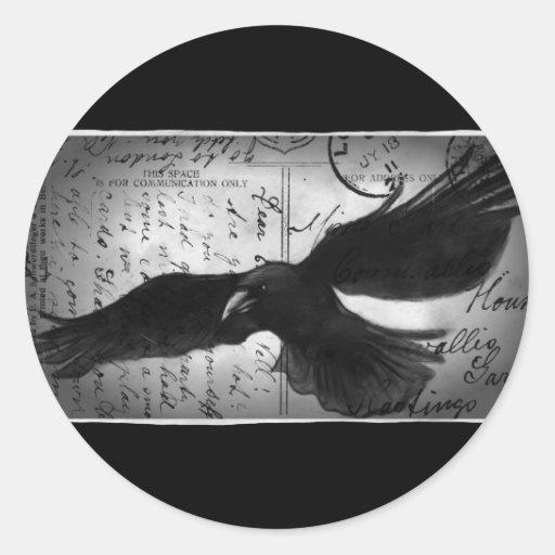 Crow deluxe sticker