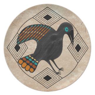 Crow Dinner Plates