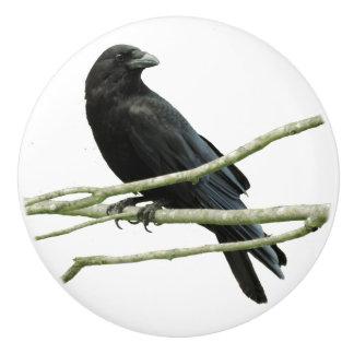 Crow Drawer Knob Ceramic Knob