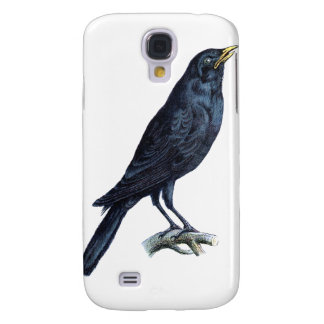 Crow Galaxy S4 Cover
