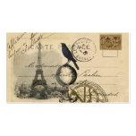 Crow Globe Paris Business Card