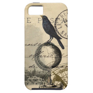 Crow Globe Paris French Case iPhone 5 Covers