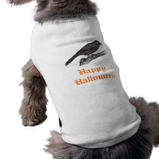 Crow Happy Halloween Pup Shirt