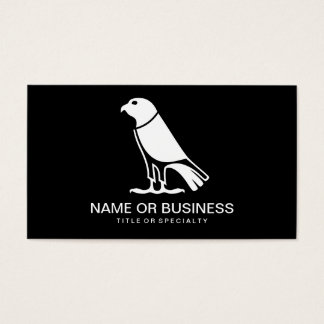 crow icon business card