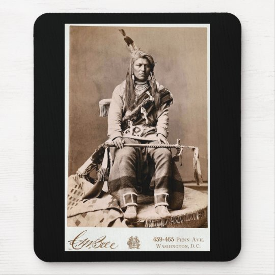 Crow Indian 1880 Mouse Pad