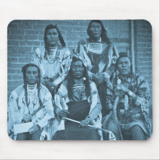 Crow Indian Chiefs 1879 Mouse Pad