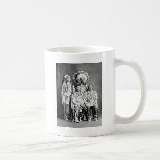 Crow Indian Group Portrait, early 1900s Coffee Mug