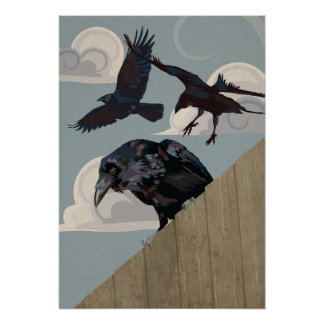 Crow invasion poster