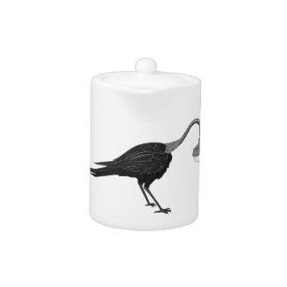 Crow Lamp Teapot