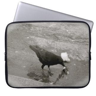 Crow Laptop Sleeves