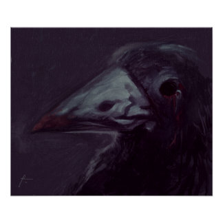 Crow left poster