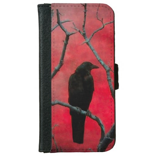 Crow Love iPhone 6/6s Wallet Case