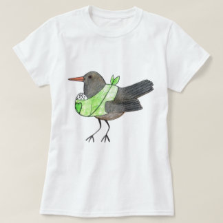 Crow mom by Kaisa Hakanpää T-Shirt