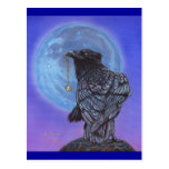 Crow Moon Post Card