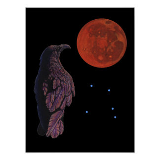 Crow Moon Poster