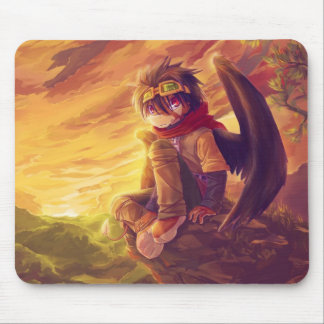 Crow Mouse Pad