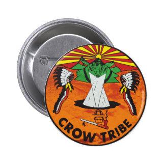 Crow Nation Pinback Button