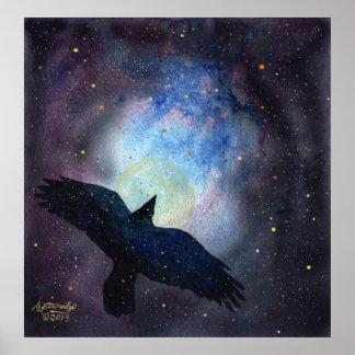Crow Nebula Poster