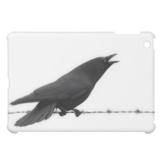Crow on Barbed Wire Cover For The iPad Mini