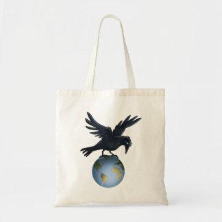 Crow on Top of the World Bag