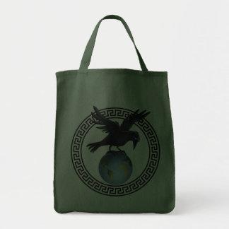 Crow on top of the world - Bag