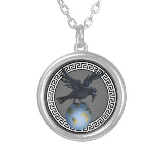 Crow on top of the World - Necklace